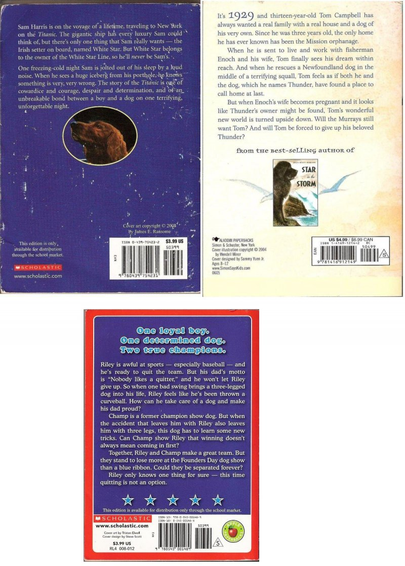 A boy and his dog stories for children