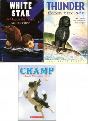 Dog Stories 3 books White Star, Thunder, Champ PB