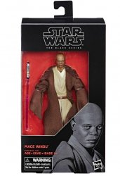 Star Wars Black Series Mace Windu #82 action figure 6 in
