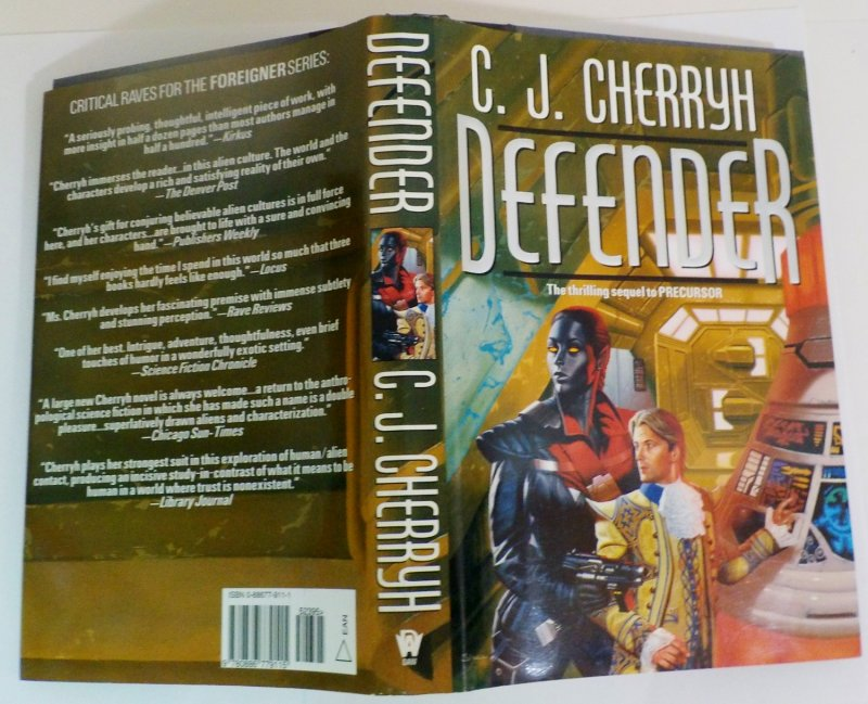 of the Foreigner Series by C J Cherryh HC DJ 2001 first edition