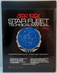 Star Trek TOS: Star Fleet Technical Manual by Franz Joseph 1st ed 1975