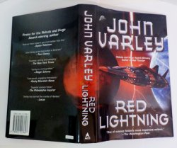 Red Lightning by John Varley, A Thunder and Lightning Novel, HC DJ 2006