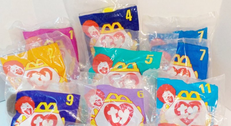 McDonald's 1998 Happy Meal Toys
