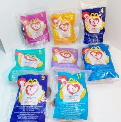 McDonald's TY Teenie Beanie Babies 1998 Happy Meal Toys
