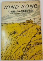 Wind Song by Carl Sandburg, poetry for young readers 1960 PB