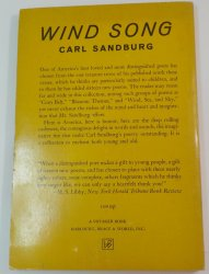 '.Wind Song by Carl Sandburg.'
