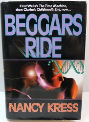 Beggars Ride By Nancy Kress Book 3 Beggars Trilogy HC DJ 1996