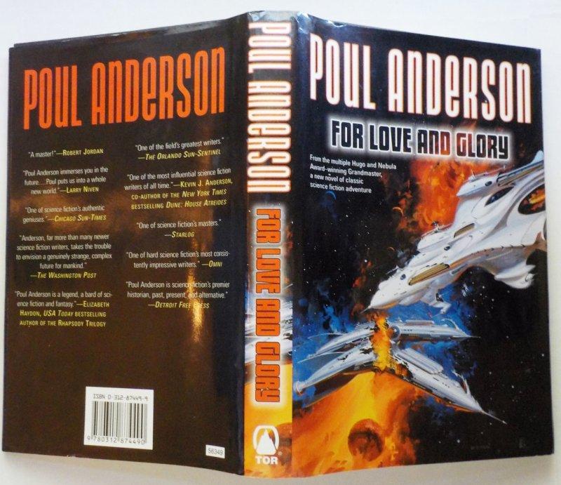 by Poul Anderson HC DJ 2003 SciFi