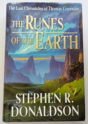 The Runes of the Earth by Stephen R Donaldson HD DJ 1st Ed 2004
