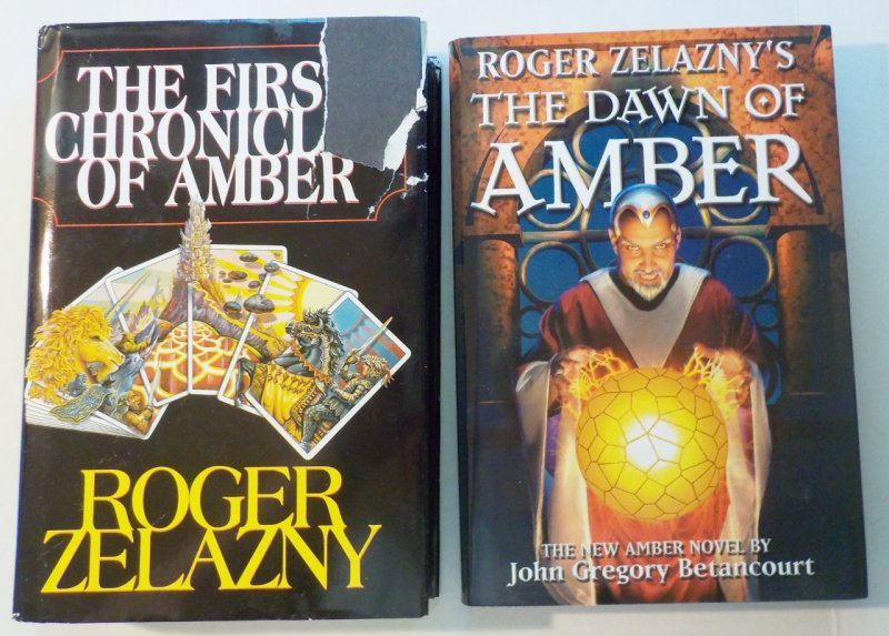 Includes First 5 books of Amber and prequel The Dawn of Amber