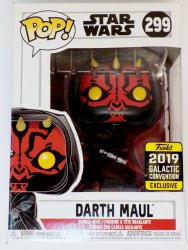 Funko POP! Darth Maul Star Wars Celebration Exclusive 2019 figure