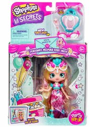 Shopkins Pearlina's Mermaid Pool Party locket Lil Secrets Shoppies