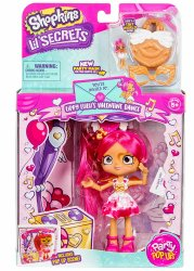 Shopkins Lippy Lulu's Valentine's Dance Lil Secrets Shoppies