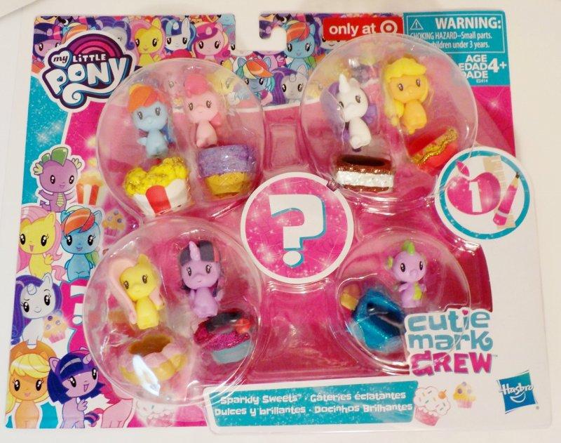 Cutie Mark Crew Exclusive plus mystery pony