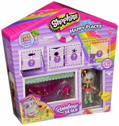 Shopkins Happy Places Rainbow Beach Kokonut Lil' Pet Surprise