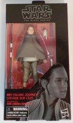 Star Wars Black Series #58 Rey Island Journey 6 in action figure