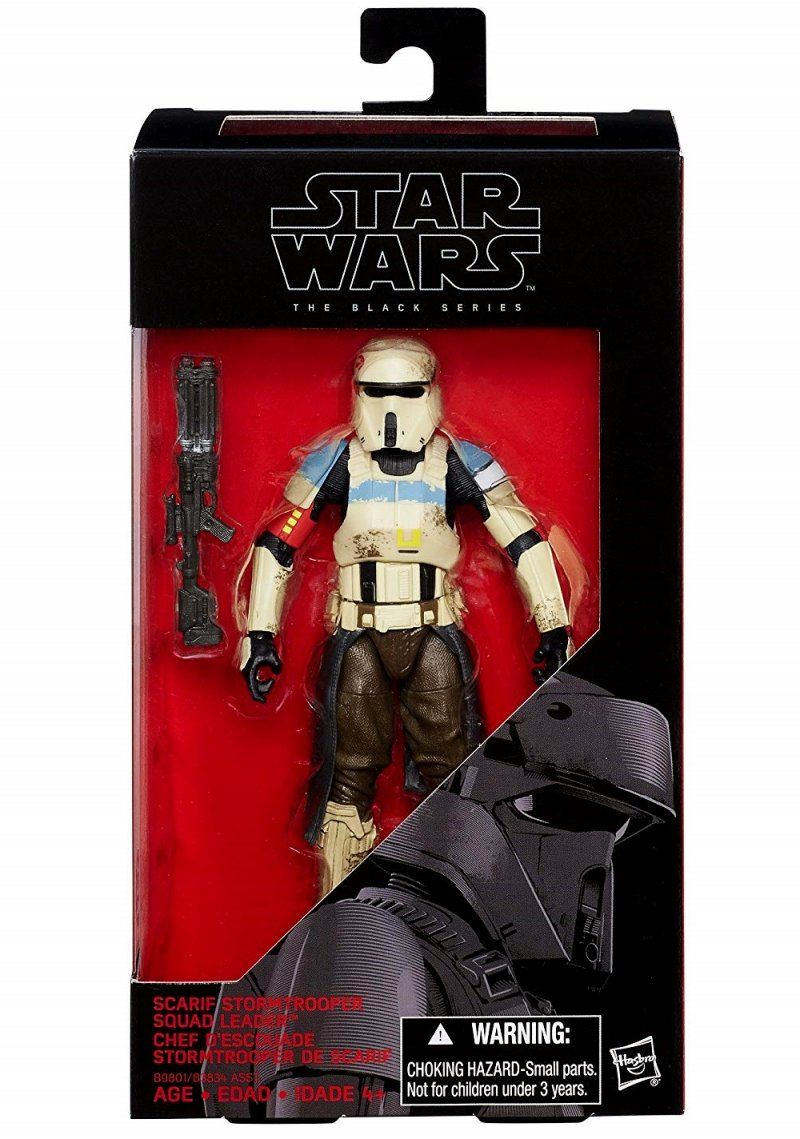 Star Wars Black Series Scarif Stormtrooper action figure