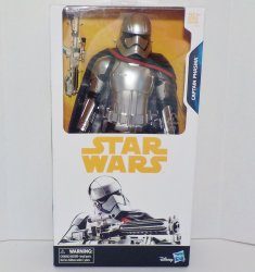 Star Wars Captain Phasma 12 in scale figure Disney Walmart Exclusive