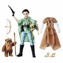 Star Wars Forces of Destiny Princess Leia and Wicket Endor Adventure
