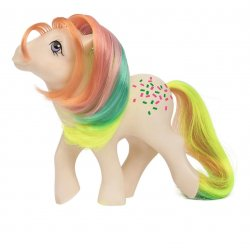 My Little Pony 35th Anniversary Confetti Rainbow Collection Ponies