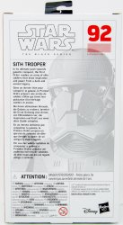 '.The Black Series Sith Trooper.'