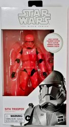 Star Wars First Edition The Black Series Sith Trooper #92 White Box