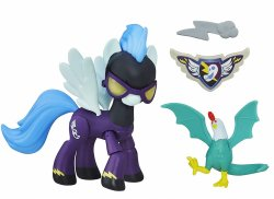 My Little Pony Shadowbolts Guardians of Harmony w/ sidekick figure