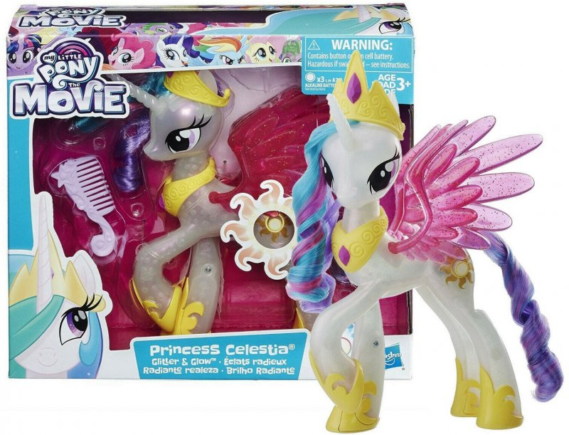 My Little Pony Glitter and Glow Color changing