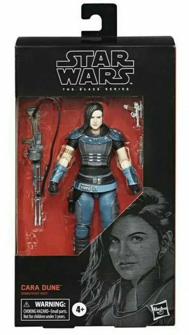 Star Wars The Black Series from The Mandalorian