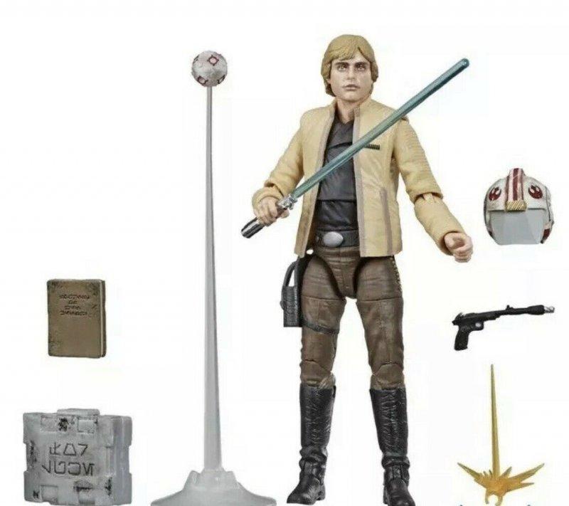 Star Wars Black Series Luke Skywalker (Skywalker Strikes) figure