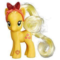 My Little Pony Explore Equestria Applejack Figure with Headband