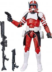 Star Wars Black Series Clone Commander Fox 6 inch figure The Clone Wars