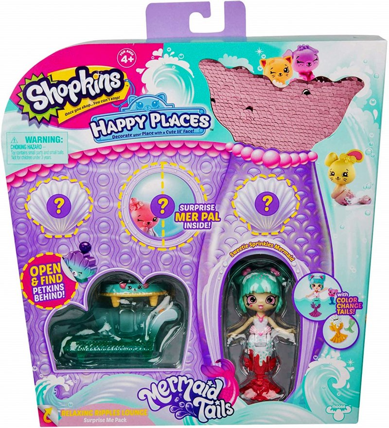 Shopkins Happy Places Surprise Me Pack Relaxing Ripples Lounge