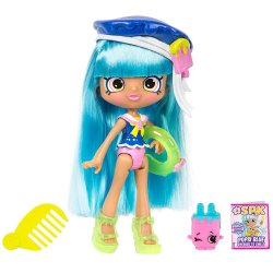 Shopkins Shoppie Beach Style  Popsi Blue Doll