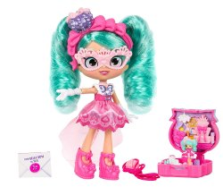 Shopkins Lil Secrets Bella Bow's Princess Party with locket