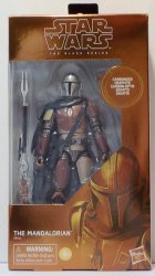 Star Wars Black Series Carbonized Mandalorian 6 inch figure