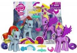 My Little Pony Crystal Princess Celebration Princess Cadance and Applejack