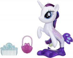 My Little Pony The Movie Glitter and Style Seapony Rarity