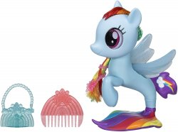 My Little Pony The Movie Glitter and Style Seapony Rainbow Dash