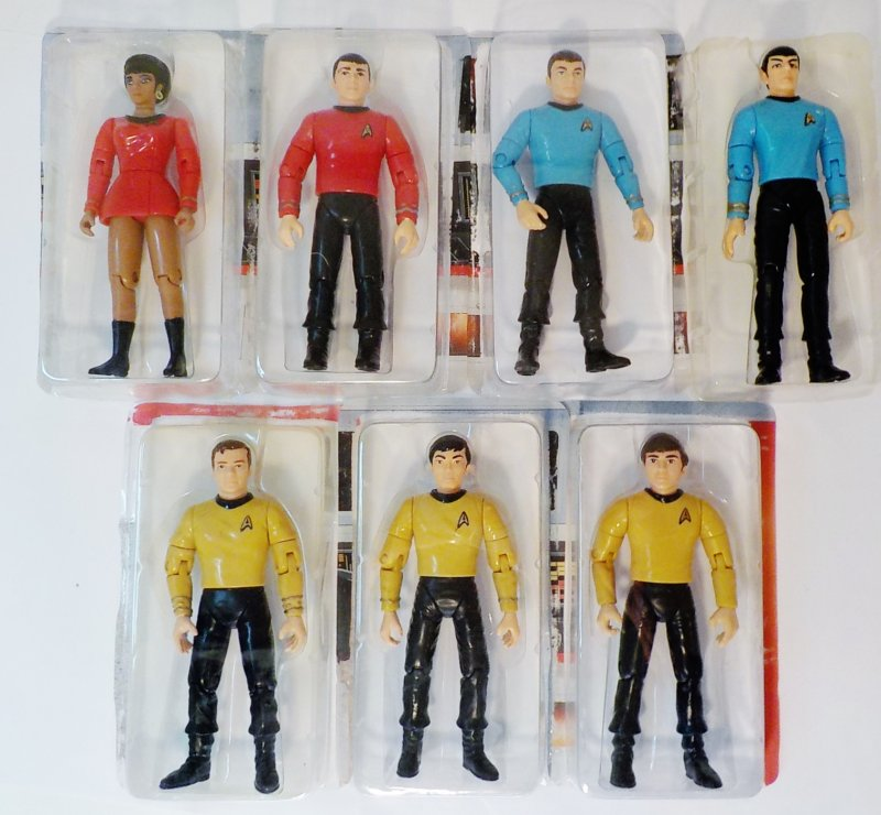 The Original Series action figure set of 7 by Playmates 1993