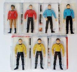 Star Trek Starfleet Officers Collectors Set TOS TNG DS9 Playmates 1994 loose