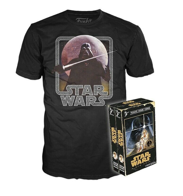 Funko Home Video Tees Star Wars A New Hope T-Shirt Adult