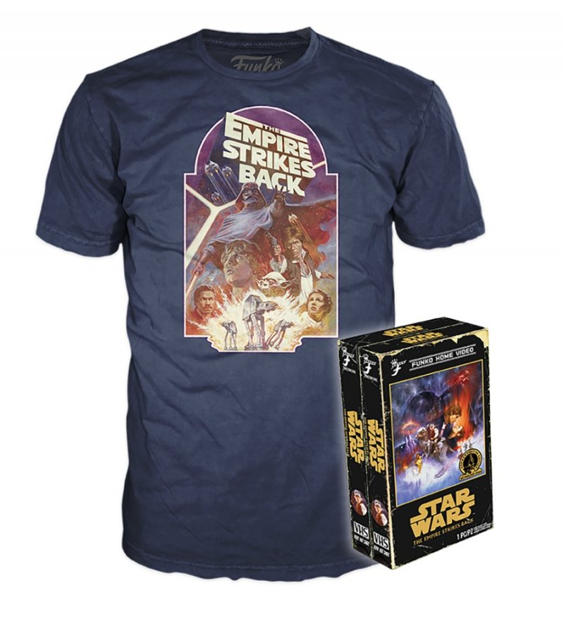 Funko Home Video Tees Star Wars The Empire Strikes Back Adult T-Shirt