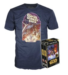 Funko Home Video Tees Star Wars The Empire Strikes Back-XL Adult