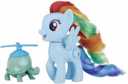 My Little Pony Rainbow Dash Silly Looks Friendship is Magic