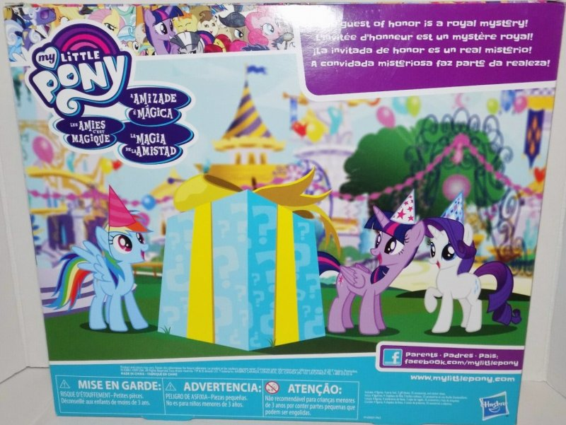 My Little Pony Birthday Surprise Pack Mystery Pony Exclusive