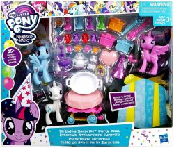 My Little Pony Birthday Surprise Party Pack Mystery Pony Exclusive