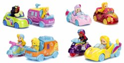 Nickelodeon's Sunny Day Twin Pack Die Cast Character Vehicle Set of 4 packs