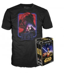 Funko Home Video Tees Star Wars Return of the Jedi Large Adult