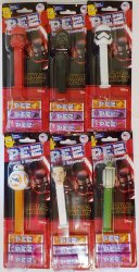 PEZ Star Wars The Rise of Skywalker Set of 6 tall carded